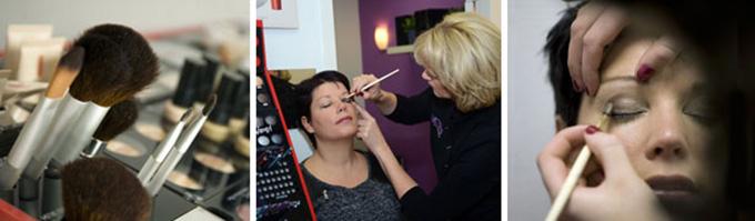 Make-up-behandeling